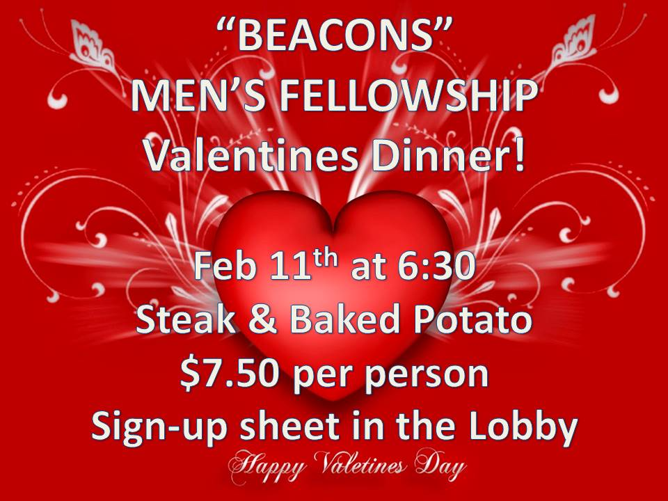 BEACONS VALENTINES DAY