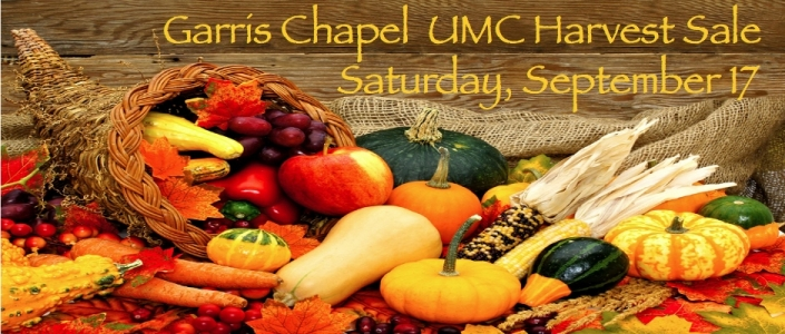Garris Chapel Harvest Sale